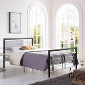 Hodedah Classy and Stylish Metal Bed Frame