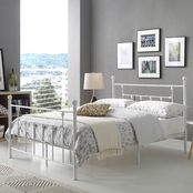 Hodedah Metal Bed