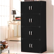 Hodedah 8 Door Storage Cabinet