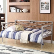 Hodedah Metal Cross Back Daybed