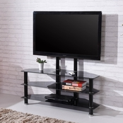 Hodedah TV Stand with Mount