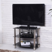 Hodedah 4 Shelf TV Stand