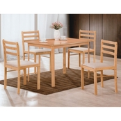 Hodedah 5 Pc. Dinette Set