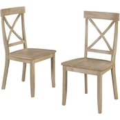 Home Styles Classic X Back Chair 2 Pk.