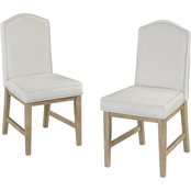 Home Styles Classic Upholstered Chair 2 Pk