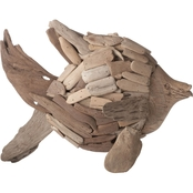 Dimond Home Driftwood Angel Fish