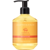 Crabtree & Evelyn Citron and Coriander Hand Wash 8.5 oz.