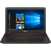 ASUS FX Series 15.6 in. Intel i7 2.8GHz 8GB 256GB SSD Gaming Notebook