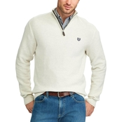 Chaps Mock Neck Quarter Zip Sweater