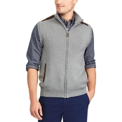 Chaps Full Zip Sweater Vest
