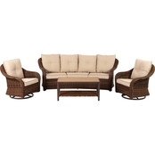 Grand Leisure Palermo 4 Pc. Deep Seating Set