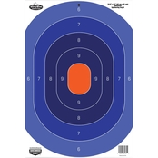 Birchwood Casey Dirty Bird 16.5 x 24 In. Blue/Orange Silhouette Target, 3 Pk.