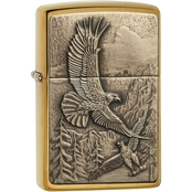Zippo Where Eagles Dare Emblem Lighter