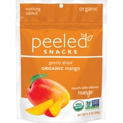 Peeled Snacks Much-Ado-About-Mango Gently Dried Organic Mangos