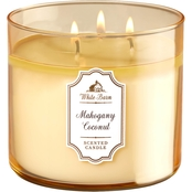Bath & Body Works Mahogany Coconut 3 Wick Candle