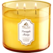 Bath & Body Works Pineapple Mango 3 Wick Candle