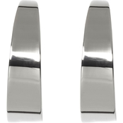 Vince Camuto Large Tapered Hoop Earrings