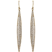 Vince Camuto Pave Spear Earrings
