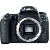 Canon EOS 77D 24.2 MP DSLR Camera Body