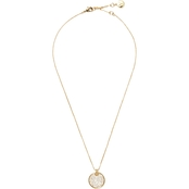 Vince Camuto Round Pave Disc Pendant