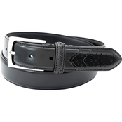 Florsheim Leather Belt, Perforated Tail