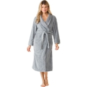 Sleep Zenista Rice Pile Shawl Collar Robe