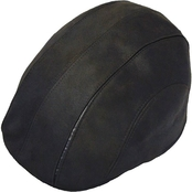 Henschel Hats 6 Panel Faux Leather Ivy Hat
