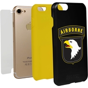 Guard Dog 101st Airborne Division Hybrid Case with Guard Glass for iPhone 7