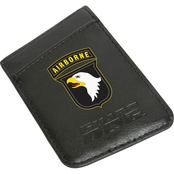 Guard Dog 101st Airborne Division Card Keeper RFID Protected Leather Phone Wallet
