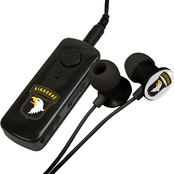 AudioSpice 101st Airborne Division Bluetooth Receiver with BudBag and Earbuds