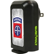 QuikVolt 82nd Airborne Division 2 in 1 Car/Wall Charger Combo