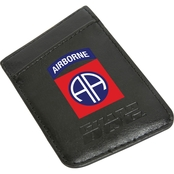 Guard Dog 82nd Airborne Division Card Keeper RFID Protected Leather Phone Wallet
