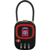 ZGadget 82nd Airborne Division TSA Combination Lock