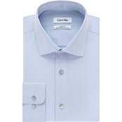 Calvin Klein Regular Fit Point Collar Dress Shirt