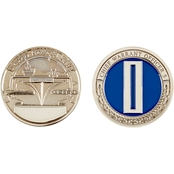 Challenge Coin Navy Chief Warrant Officer 5