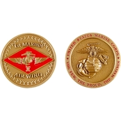 Challenge Coin 1st Marine Air Wing Coin