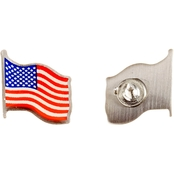 Challenge Coin U.S. Flag Pin 2 pk.