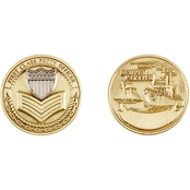 Challenge Coin U.S. Coast Guard Petty Officer 1 Coin