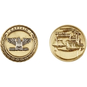 Challenge Coin U.S. Coast Guard Captain Coin