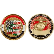 Challenge Coin Back From Iraq USMC Coin