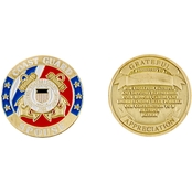 Challenge Coin US Coast Guard Spouse Coin