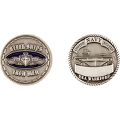 Challenge Coin Navy Surface Silver Coin