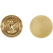 Challenge Coin Navy Bronze Single Sided Coin