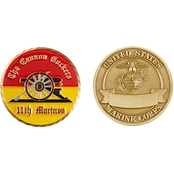 Challenge Coin 11th Marines Regiment Coin