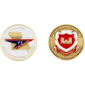 Challenge Coin Fort Leonard Wood Engineer Training Coin