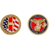 Challenge Coin USMC Warrant Officer 1 Coin