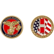 Challenge Coin USMC Chief Warrant Officer 3 Coin