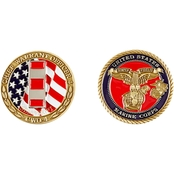 Challenge Coin USMC Chief Warrant Officer 4 Coin