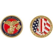 Challenge Coin USMC Chief Warrant Officer 5