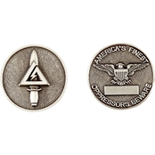 Challenge Coin Delta, Silver Coin
